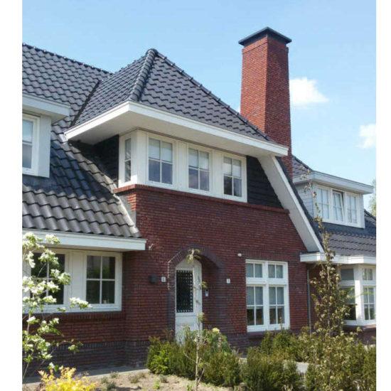 nieuwbouw woning in raalte is ontworpen volgens de jaren 30 stijl.