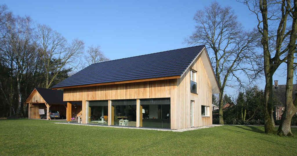 Moderne schuurwoning te nijverdal hoogsteder architecten for Architecten moderne stijl