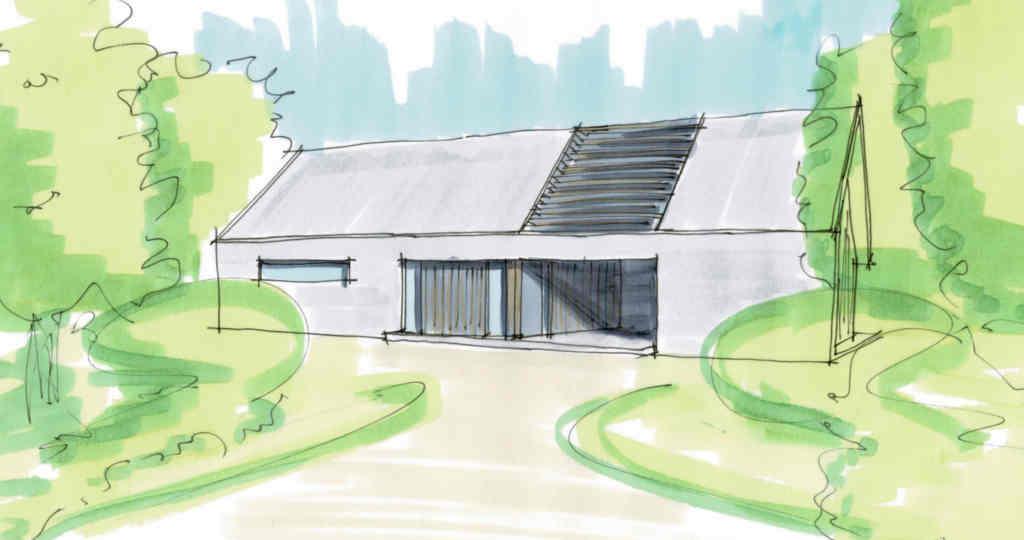 duurzaam bouwen ontwerp schuurwoning moderne schuurwoning landelijke huizen landelijk moderne woning architect gezocht voor uw droom luxe Moderne-schuurwoning_landelijk_ron_hoogsteder_architecten_architect_raalte duurzaam vrijblijvend gesprek