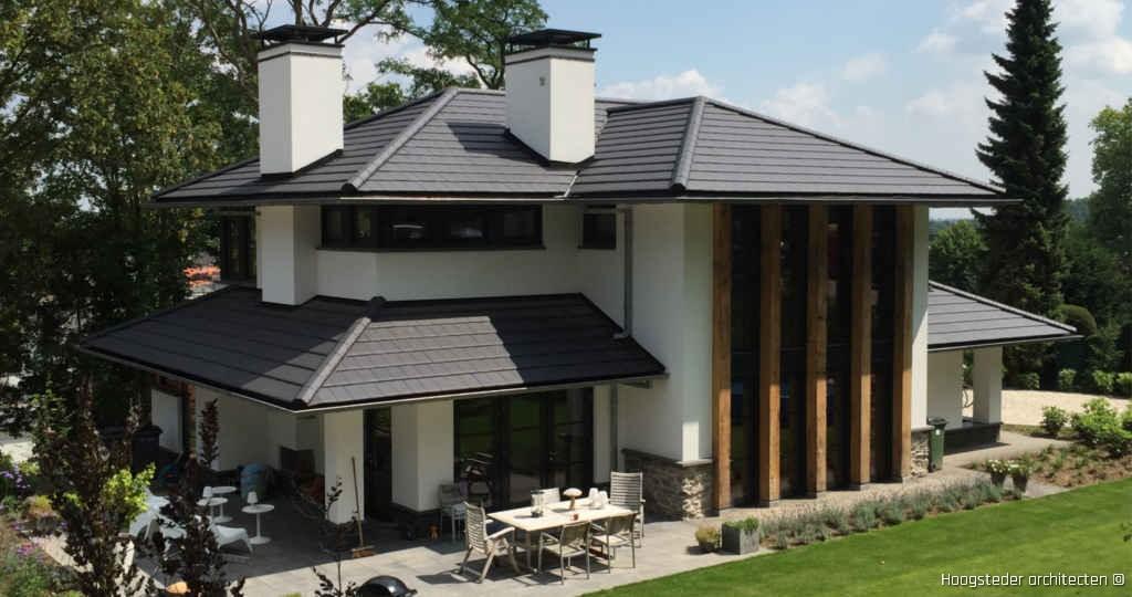 Moderne villa in frank lloyd wright stijl hoogsteder architecten
