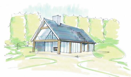 Wat kost een schuurwoning? Wat is een schuurwoning? Moderne schuurwoning in het landelijk gebied. Ontworpen door architectenbureau Hoogsteder architecten. Wij luisteren naar uw wensen en ideeën, brengen dit samen met onze creativiteit en expertise om u droomwoning te realiseren. Onze expertise: moderne woningen en landelijke schuurwoningen, energiezuinig en circulair bouwen. bouwproces rietgedekte woning