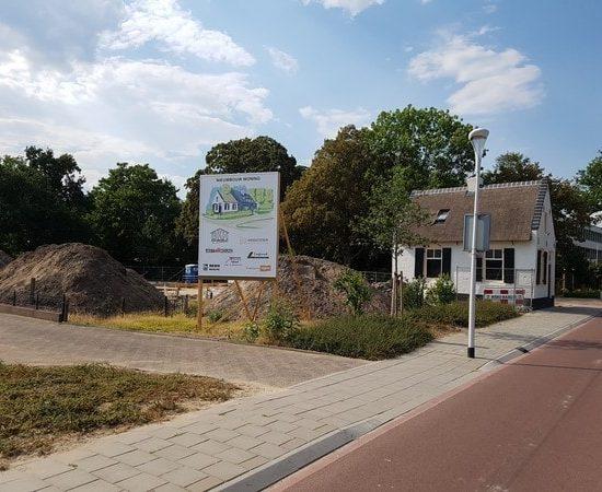renovatie tolhuis en nieuwbouw woning in Raalte. Ontworpen door architectenbureau Hoogsteder architecten