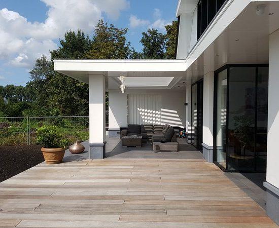 verande hout glas licht buitenhaard architectenbureau hoogsteder architecten
