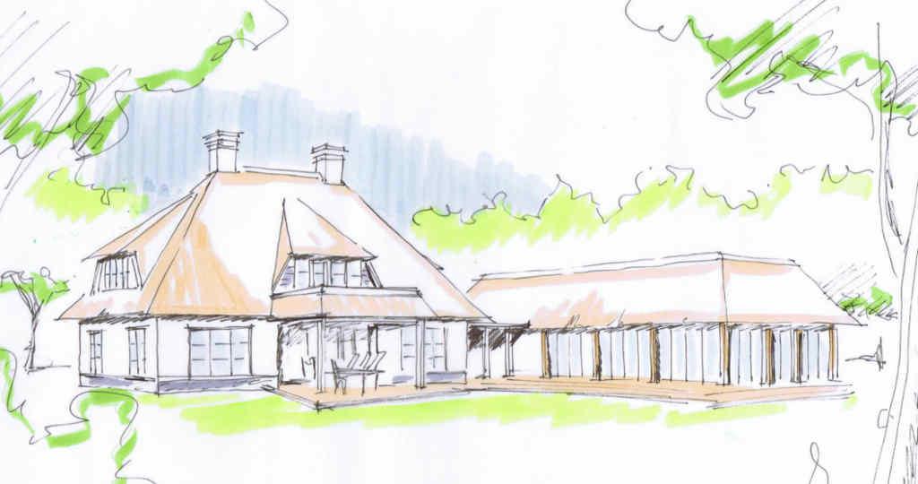 rietgedekte villa rietgedekte huis bouwen rietgedekte landhuis hoogsteder architecten raalte