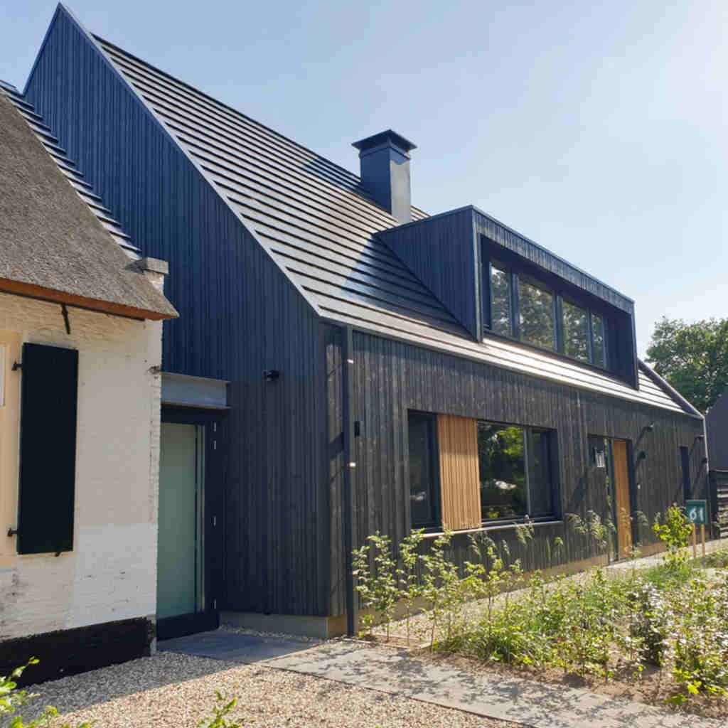 moderne nieuwbouw woning achter tolhuis raalte hout hoogsteder architecten