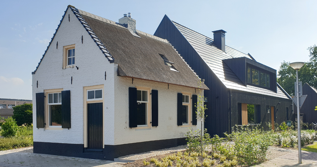 donker hout, dakpannen, schuurwoning, salland, raalte, architect
