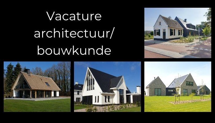 vacature architectuur bouwkunde