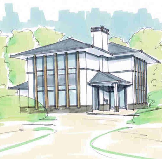 nieuwbouw villa frank lloyd wright hattem